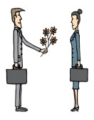 businessman-giving-flowers
